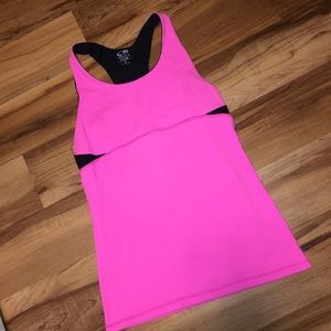 Champion fitted athletic tank top